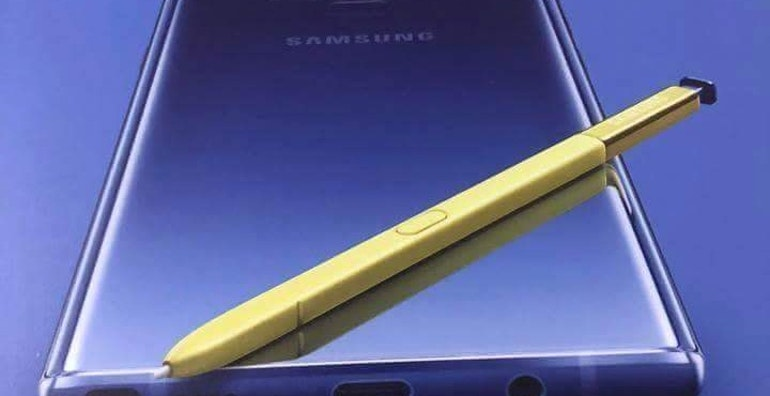 samsung galaxy note 9 leak packaging