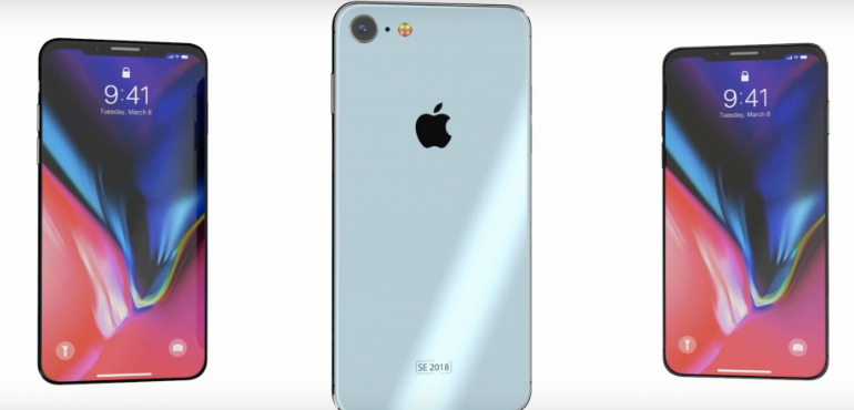 iPhone SE 2 render hero