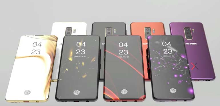 Samsung Galaxy S10 colours leaked