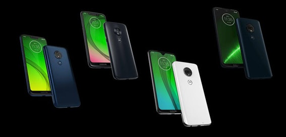 Motorola accidentally leaks entire G7 range