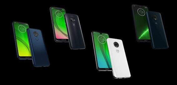 Motorola accidentally leaks entire G7 range