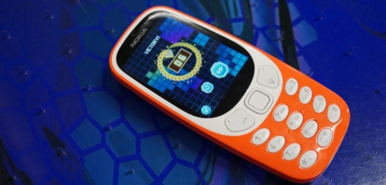 Nokia 3310 new hero image Snake