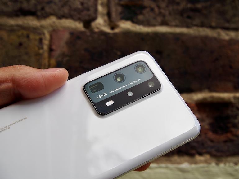 Huawei P40Pro+ lenses