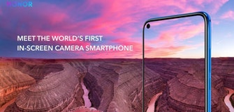 Honor View 20 teased with in-screen front camera