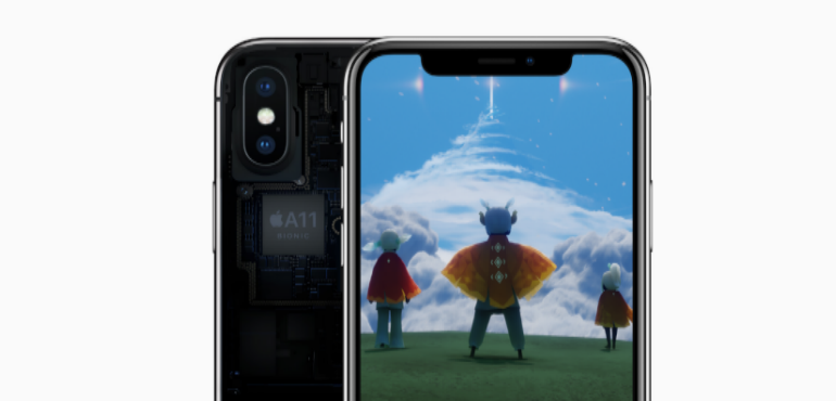 iPhone X A11 bionic chip hero image