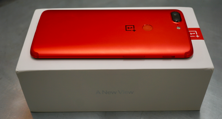 OnePlus red edition box