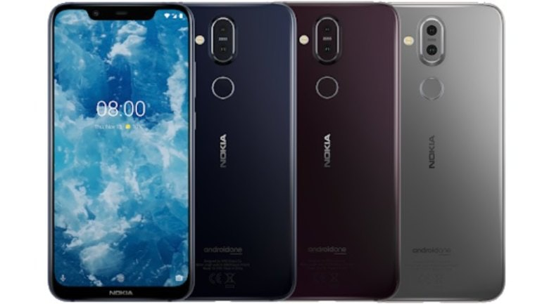 Nokia 8.1 colours