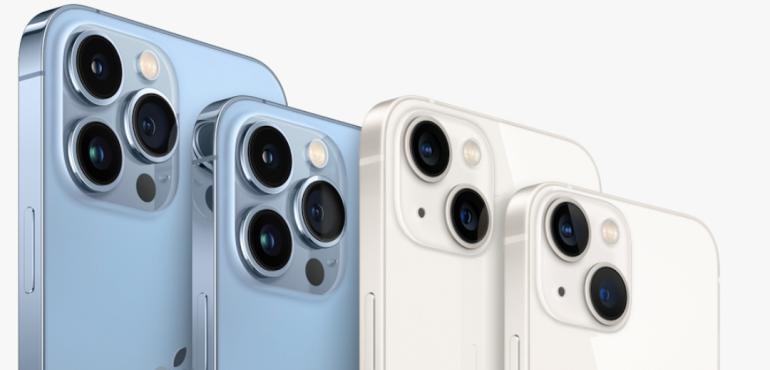 iPhone 13 mini, Pro and Pro Max hero image