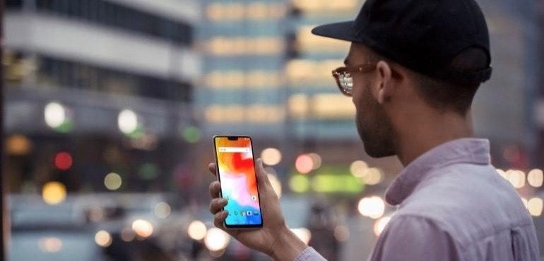 OnePlus 6 face unlock hero size