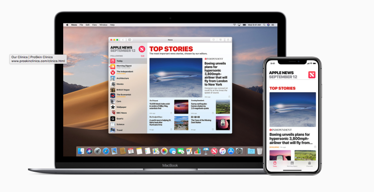 Apple News IOS 12