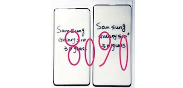 Galaxy S10: new leaks show off plans for bezel–free design