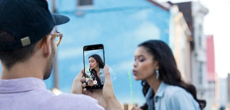 OnePlus 6 video recording camera hero size