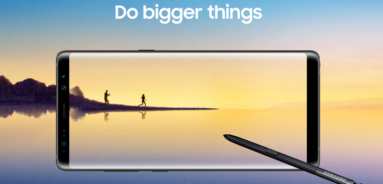 Vodafone announces pre-order prices for the Samsung Galaxy Note 8