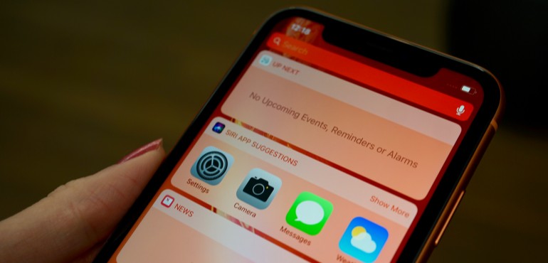 iPhone XR gets notification expansion tool