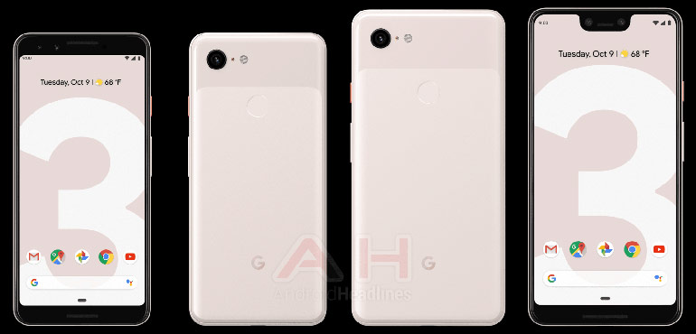 Google Pixel 3 spotted in pink colour scheme