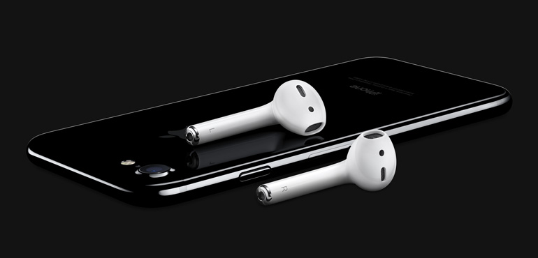 iPhone 7 AirPods available now
