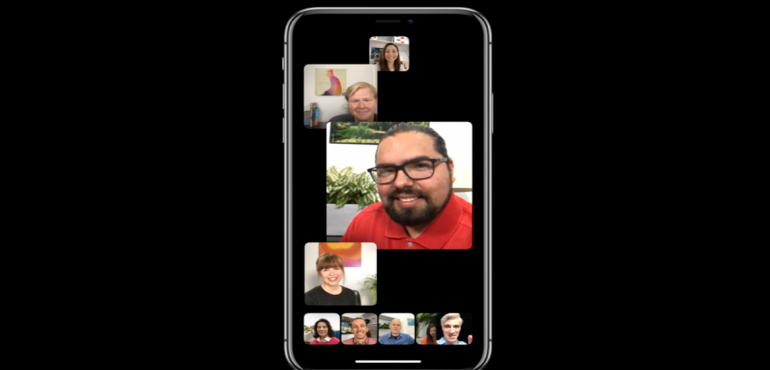 iOS 12 facetime group 2