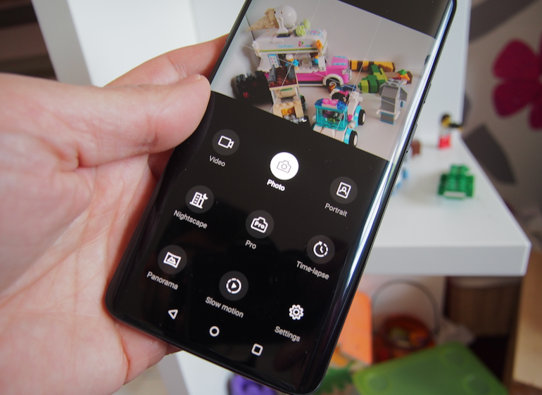 OnePlus 7 Pro camera modes