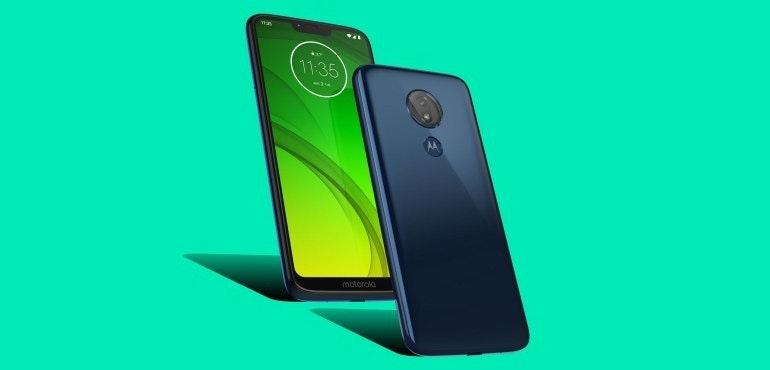 Motorola G7 Power packshot official