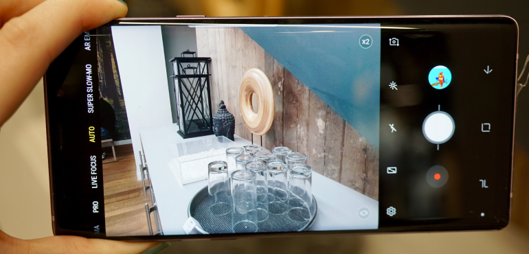 Samsung Galaxy Note 9 camera review: Same as the S9. With some handy improvements