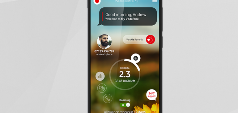 Vodafone VeryMe app