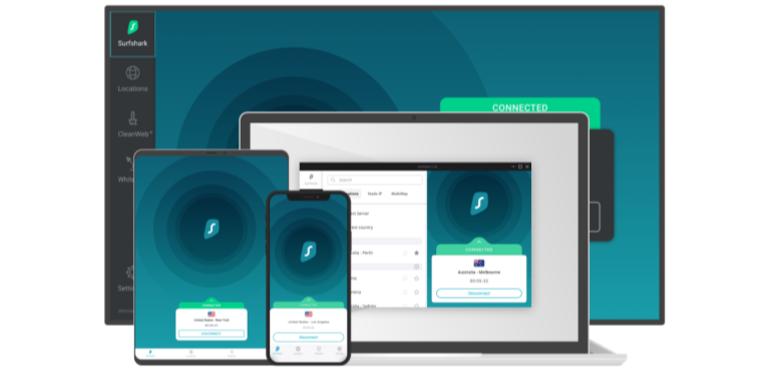 Surfshark VPN review hero image