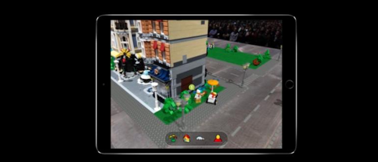 iOS 12 Lego