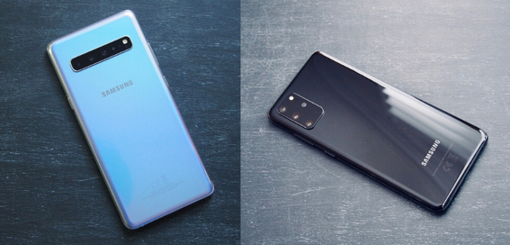 Samsung Galaxy S20+ vs S10+