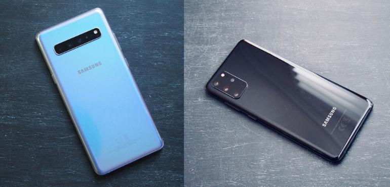 Samsung Galaxy S20+ vs S10+