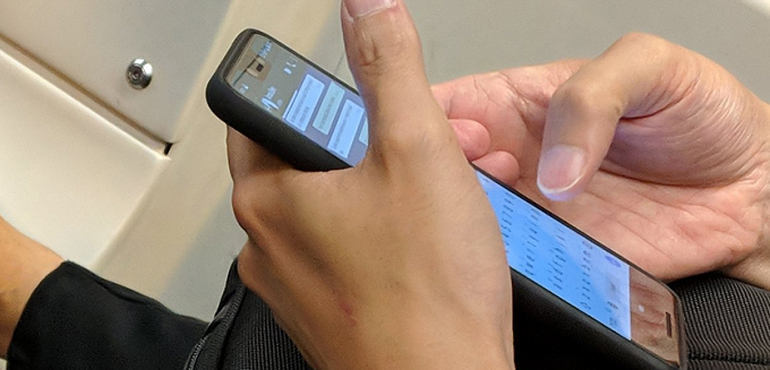 Google Pixel 3 XL spotted in the wild