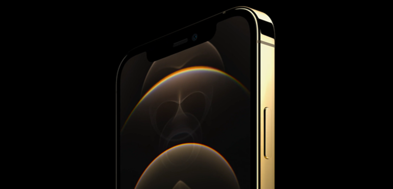 iPhone 12 Pro Gold front
