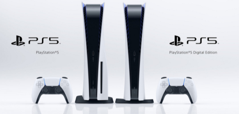 Sony shows off PS5 console and launch games