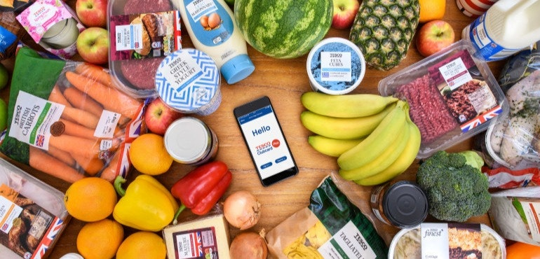 Save 240 On Your Shopping With Tesco Mobile