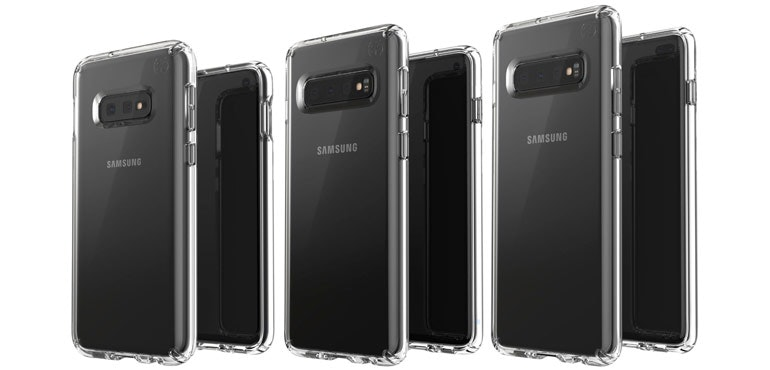 Samsung Galaxy S10 family leaks in official pic