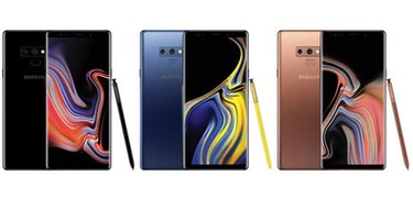 Samsung Galaxy Note 9 UK price set to start at £899