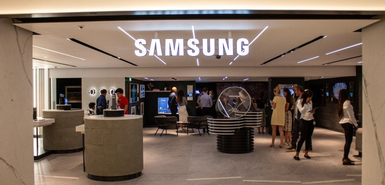 Samsung Harrods hero image