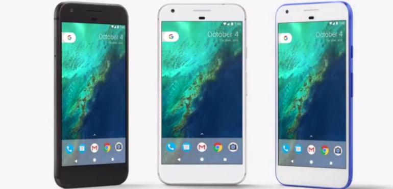 google pixel colours