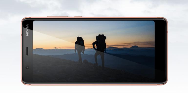 Nokia 5.1 landscape