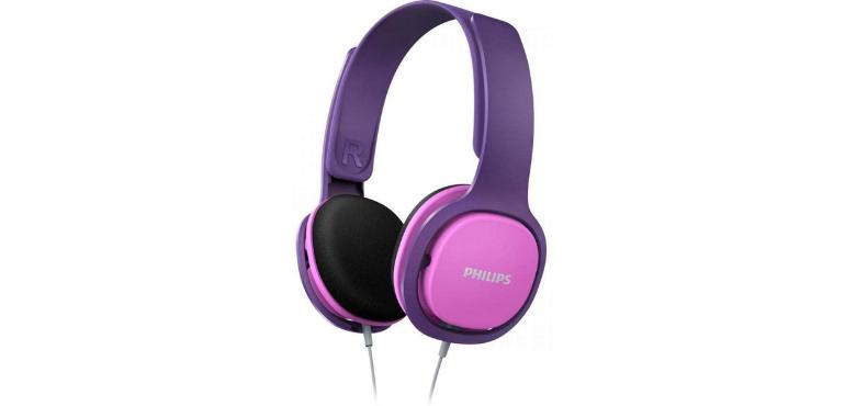Philips SHK2000PK Kids Over-Ear Noise-Isolating Headphones