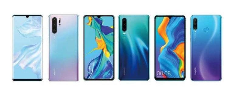 Huawei P30 Pro colourways hero size