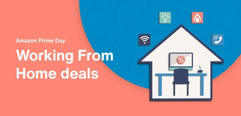 Amazon Prime Day working from home deals hero image
