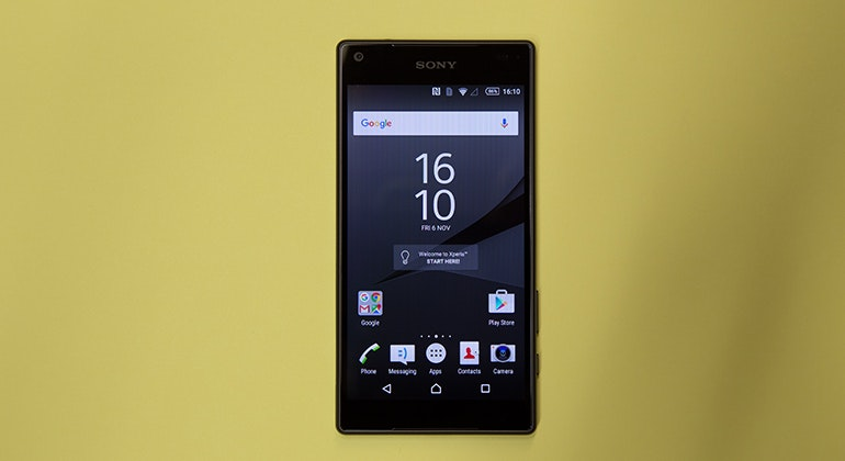sony xperia z5 front on