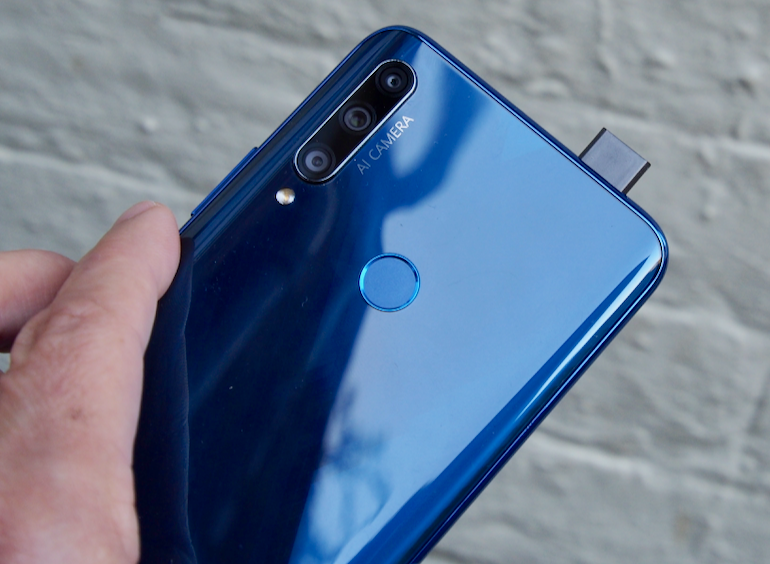 Honor 9X selfie camera back