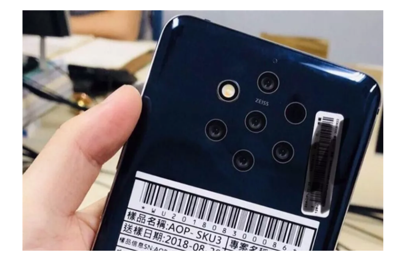 Nokia 9.1 PureView leak