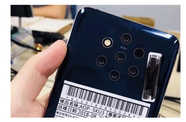 Nokia 9.1 PureView leak