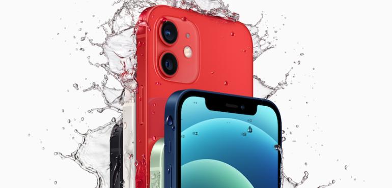 iPhone 12 hero image waterproof