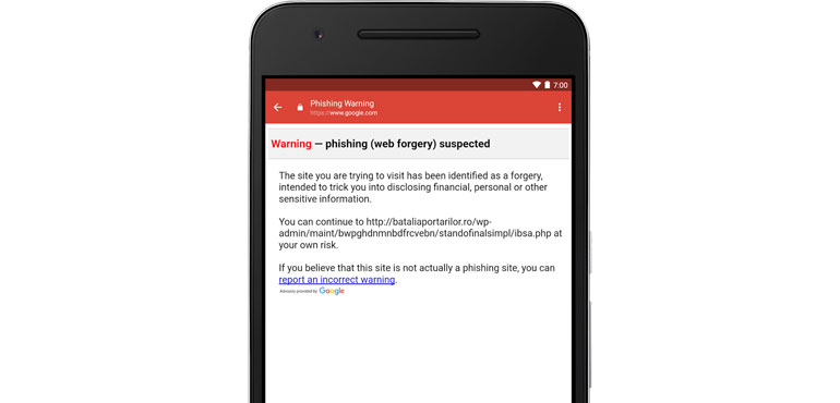Gmail for Android gets new anti–phishing feature
