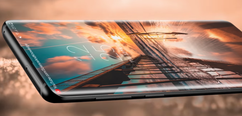 Samsung Galaxy S10 concept all screen front hero image