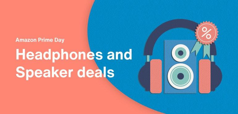 Amazon Prime Day headphones deals hero image