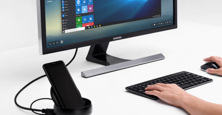 Samsung DeX with Word